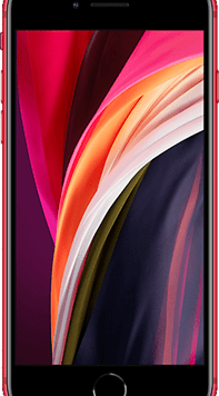 Apple iPhone SE (2020) (64GB (PRODUCT) RED Used Grade A) at £19.00 on Red (24 Month(s) contract) with UNLIMITED mins; UNLIMITED texts; 24000MB of 5G data. £35.00 a month.