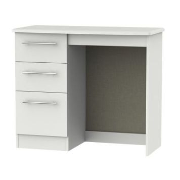 Colby Desk Grey 3 Drawer