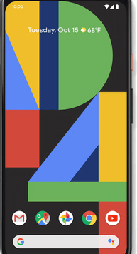 Google Pixel 4 XL (64GB Clearly White) at £19.00 on Unlimited with Entertainment (24 Month(s) contract) with UNLIMITED mins; UNLIMITED texts; UNLIMITEDMB of 5G data. £61.00 a month.