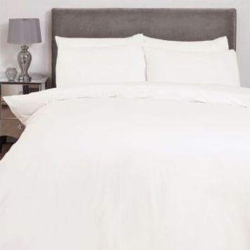 Hamilton McBride Single Duvet Cover Cream