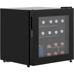 LEC DF50B 48 Litre Table Top Wine & Beer Fridge - Black