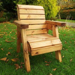 Little Fellas Garden Chair Scandinavian Redwood