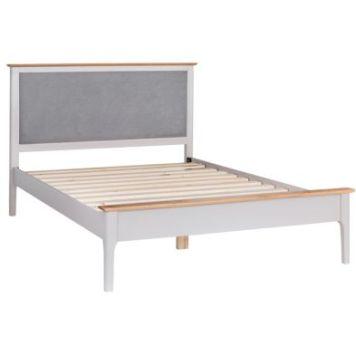 Necton Oak Dove Grey Super King Bed
