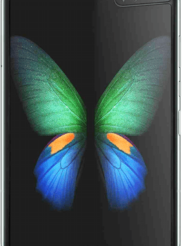 Samsung Galaxy Fold 5G (512GB Space Silver) at £299.00 on Unlimited Max with Entertainment (24 Month(s) contract) with UNLIMITED mins; UNLIMITED texts; UNLIMITEDMB of 5G data. £106.00 a month.