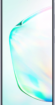 Samsung Galaxy Note10 (256GB Aura Glow Used Grade A) at £29.00 on Unlimited Max (24 Month(s) contract) with UNLIMITED mins; UNLIMITED texts; UNLIMITEDMB of 5G data. £71.00 a month.