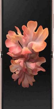 Samsung Galaxy Z Flip 5G (256GB Mystic Bronze) at £129.00 on Red with Entertainment (24 Month(s) contract) with UNLIMITED mins; UNLIMITED texts; 6000MB of 5G data. £83.00 a month.
