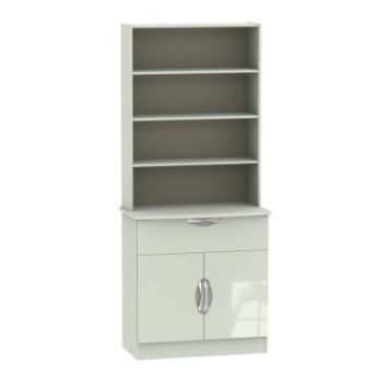 Weybourne Sideboard Cream 2 Door 4 Shelf 1 Drawer