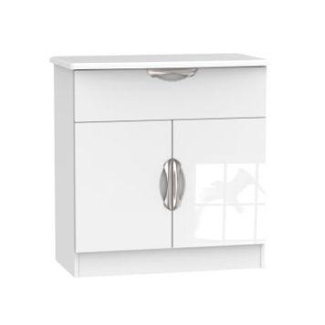 Weybourne Sideboard White 2 Door 1 Drawer
