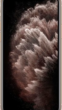 Apple iPhone 11 Pro Max (64GB Gold) at £99.00 on Red (24 Month(s) contract) with UNLIMITED mins; UNLIMITED texts; 2000MB of 4G data. £58.00 a month.