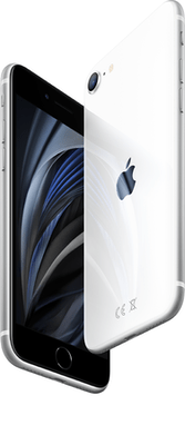 Apple iPhone SE (2020) (256GB White) at £29.00 on Unlimited (24 Month(s) contract) with UNLIMITED mins; UNLIMITED texts; UNLIMITEDMB of 5G data. £54.00 a month.