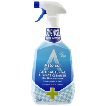 Astonish Antibacterial Surface Cleaner (750ml)