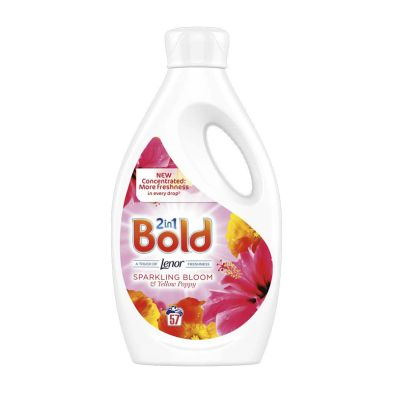 Bold 2 In 1 Liquid Sparkling Bloom & Yellow Poppy 57 Washes