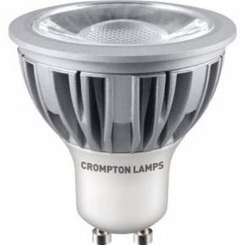 Crompton 5W LED COB GU10 Bulb - Warm White