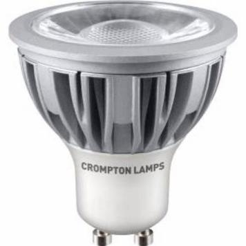 Crompton 5W LED COB GU10 Dimmable Bulb - Warm White