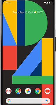 Google Pixel 4 XL (64GB Just Black Used Grade A) at £29.00 on Unlimited Lite (24 Month(s) contract) with UNLIMITED mins; UNLIMITED texts; UNLIMITEDMB of 5G data. £46.00 a month.