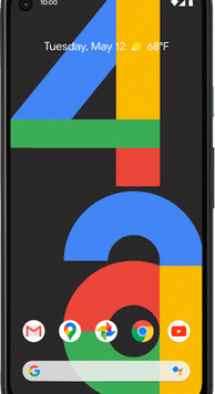 Google Pixel 4a (128GB Just Black) at £29.00 on Red (24 Month(s) contract) with UNLIMITED mins; UNLIMITED texts; 24000MB of 5G data. £39.00 a month.