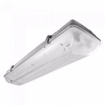 Greenhall Lighting Twin T8 LED 22W 240V Low Energy Weatherproof Fitting