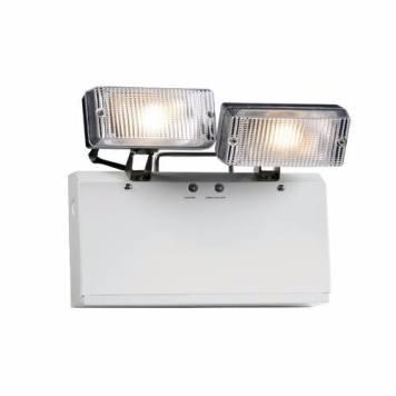 KnightsBridge IP20 Twin 3W LED Spot Emergency Light
