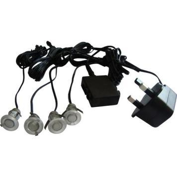 KnightsBridge Mini LED Kits 4 x 0.1W LEDs - Blue