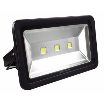 Lighthouse IP65 Ultra Efficient LED Black Aluminium Floodlight - 150 Watt