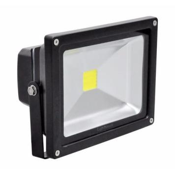 Lighthouse IP65 Ultra Efficient LED Black Aluminium Floodlight - 20 Watt