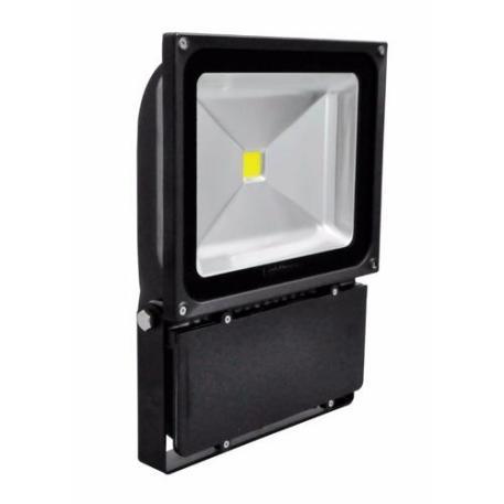 Lighthouse IP65 Ultra Efficient LED Black Aluminium Floodlight - 80 Watt