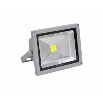 Lighthouse IP65 Ultra Efficient LED Grey Aluminium Floodlight - 10 Watt
