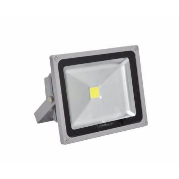 Lighthouse IP65 Ultra Efficient LED Grey Aluminium Floodlight - 20 Watt