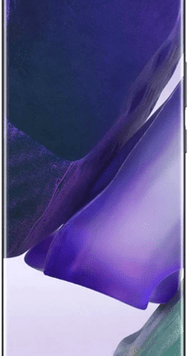 Samsung Galaxy Note20 Ultra 5G (256GB Mystic Black) at £29.00 on Unlimited with Entertainment (24 Month(s) contract) with UNLIMITED mins; UNLIMITED texts; UNLIMITEDMB of 5G data. £85.00 a month.