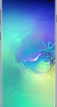 Samsung Galaxy S10 (128GB Prism Green) at £29.00 on Red (24 Month(s) contract) with UNLIMITED mins; UNLIMITED texts; 24000MB of 5G data. £39.00 a month.