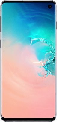Samsung Galaxy S10 (128GB Prism White) at £29.00 on Red (24 Month(s) contract) with UNLIMITED mins; UNLIMITED texts; 6000MB of 5G data. £34.00 a month.