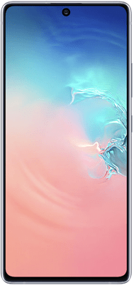 Samsung Galaxy S10 Lite (128GB Prism White) at £19.00 on Red (24 Month(s) contract) with UNLIMITED mins; UNLIMITED texts; 24000MB of 5G data. £39.00 a month.