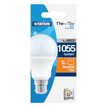 Status 11W LED Bayonet Cap GLS Bulb