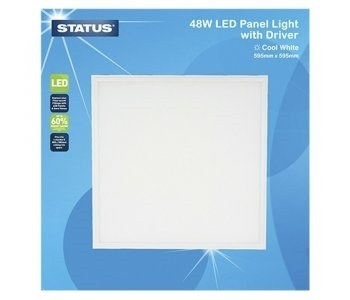 Status 48W 600x600 LED Light Panel with Driver