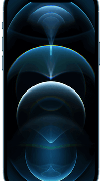 Apple iPhone 12 Pro 5G (128GB Pacific Blue) at £49.00 on Red with Entertainment (24 Month(s) contract) with UNLIMITED mins; UNLIMITED texts; 24000MB of 5G data. £74.00 a month.