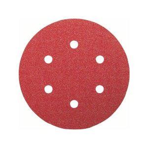 Bosch Best for Wood Sanding sheet, pack of 5 120g 150mm.