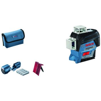 Bosch Bosch GLL 3-80 C Professional 3 Line Laser with L-BOXX