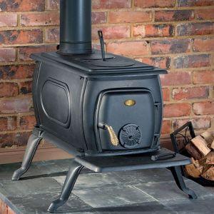 Clarke Clarke Boxwood Deluxe Cast Iron Wood Burning Stove
