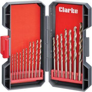 Clarke Clarke CHT762 17 Piece Drill Bit Set