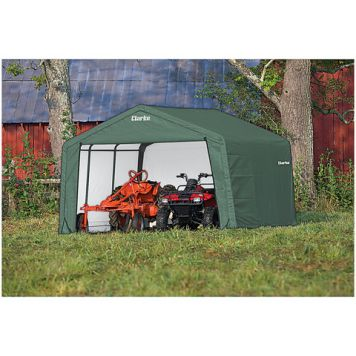 Clarke Clarke CIS81212 Motorcycle Shelter/Shed (3.6 x 3.6 x 2.5m)