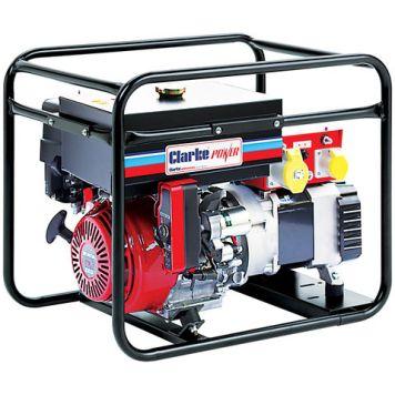 Clarke Clarke CP6550NESLR 6.5kVA Long Run Electric Start Frame Mounted Generator