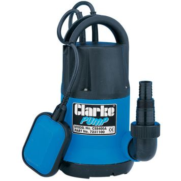 "Clarke Clarke CSE400A 1¼"" 400W 115Lpm 8m Head Submersible Water Pump (230V)"