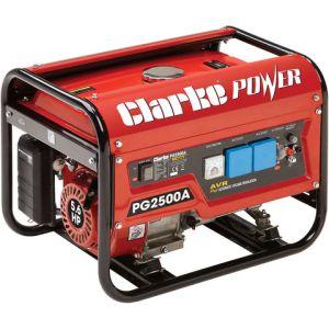 Clarke Clarke PG2500A EURO5 2.2kVA 230V Petrol Generator