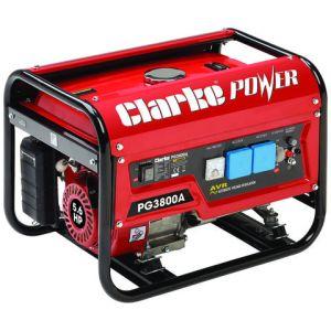 Clarke Clarke PG3800A EURO5 3kVA 230V Petrol Generator