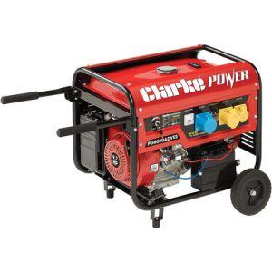 Clarke Clarke PG6500ADVES EURO5 5.5kVA Dual Voltage (230V/110V) Petrol Generator