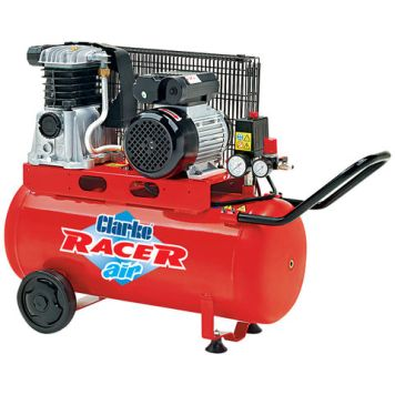 Clarke Clarke Racer 9/50P 9cfm 50Litre 2HP Belt Driven Air Compressor (110V)