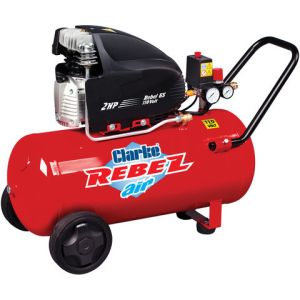 Clarke Clarke Rebel 65 8.8cfm 50Litre 2HP Air Compressor (110V)