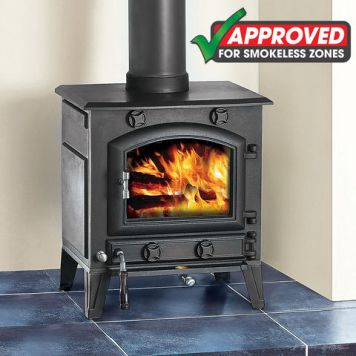 Clarke Clarke Regal III 9.2kW Smokeless Zone Approved Cast Iron Multi Fuel Stove