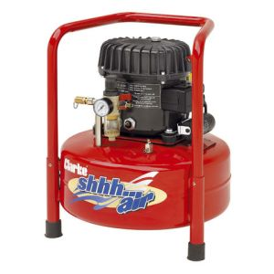 Clarke Clarke Shhh Air 50/24 1.77cfm 24Litre 0.5HP Quiet Run Compressor (230V)