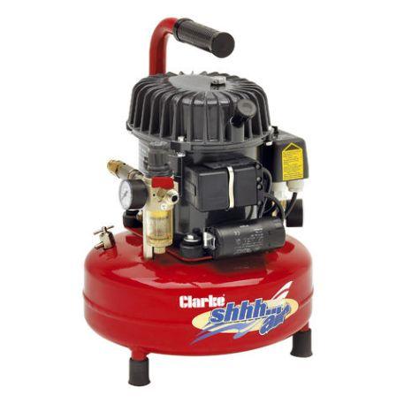 Clarke Clarke Shhh Air 50/9 1.77cfm 9Litre 0.46HP Quiet Run Compressor (230V)